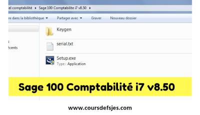 Télécharger Sage 100 Comptabilité i7 v8.50