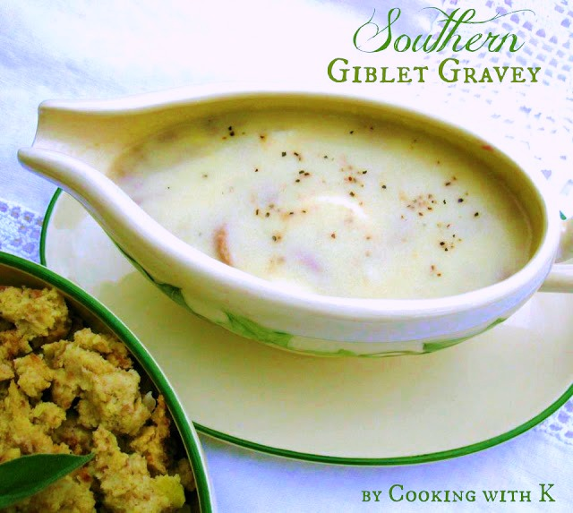 Old Fashioned Bread Stuffing With Giblets