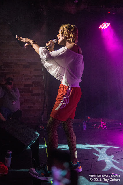 Mykki Blanco at Velvet Underground in Toronto, May 26 2016 Photos by Roy Cohen for One In Ten Words oneintenwords.com toronto indie alternative live music blog concert photography pictures