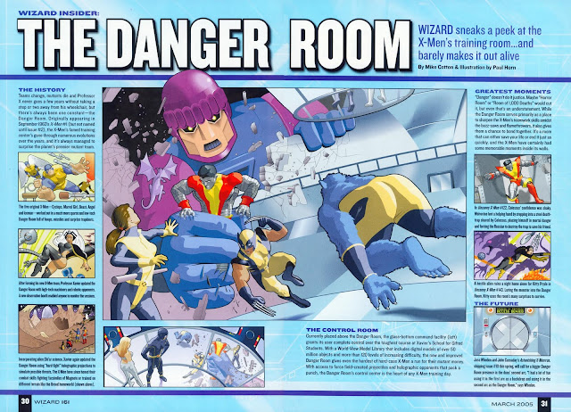 The Danger Room, Ruang Latihan X-Men