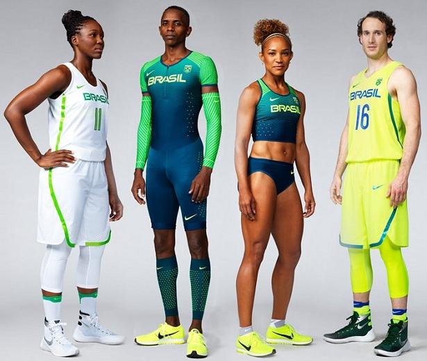 Nike lança uniformes do Time Brasil para Rio 2016 - Show de Camisas c50865524acda