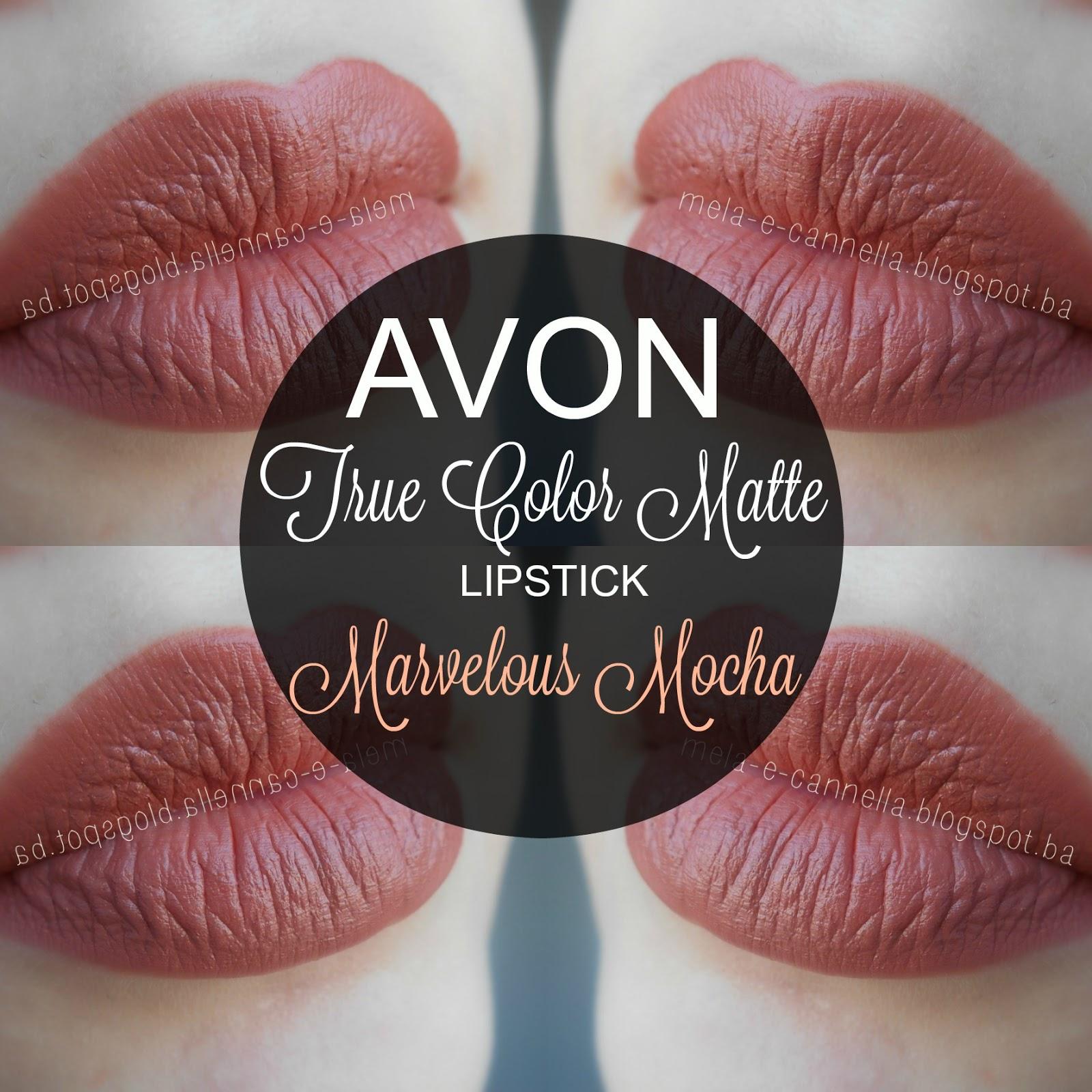 Mela-E-Cannella Avon True Color Matte Lipstick -8684