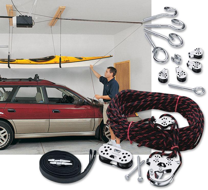 Outdoor Jay: Indoor Kayak Storage Solution