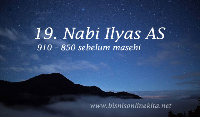 nabi ilyas as nama nama nabi