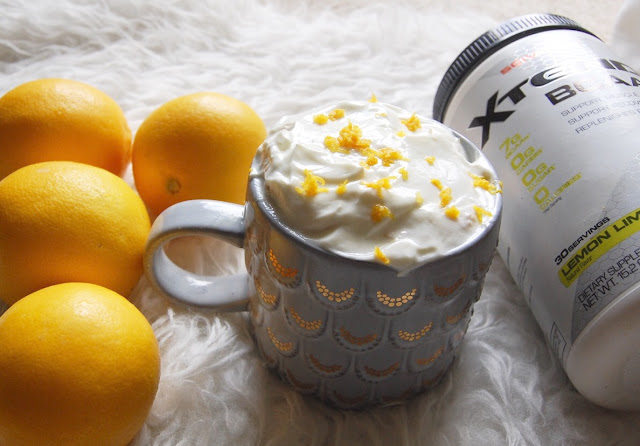 BCAA Lemon Mug Cake Recipe