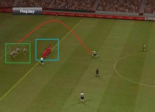 Tehnik Cara Membuat Offside Trap/Perangkap Offside Game PES 2013/2016