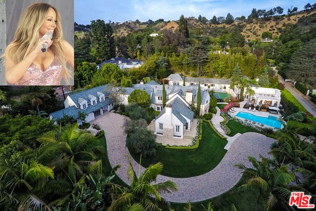 Bill Cosby Pacific Palisades Mansion