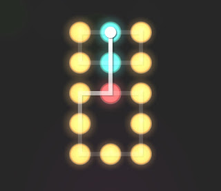 Solution, Cheats, Walkthrough for Neon Hack [Neon Dots] Level 35