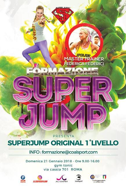Corso istruttore Superjump Original, 21 gennaio 2018 a Roma