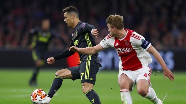 Hasil Liga Champions: Ajax vs Juventus Tuntas 1-1