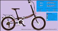 Sepeda Lipat Genio Ostrava 20 Inci