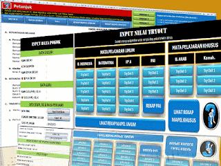 Aplikasi Analisis Try Out Ujian Sekolah SD/MI Plus Remedial