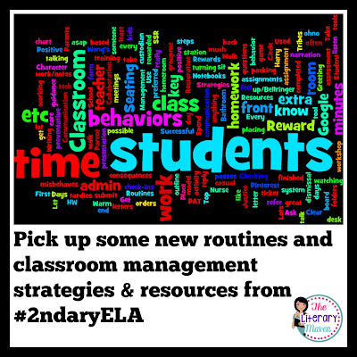 If you want your classroom to run like a well oiled machine, you need clear procedures and routines in place for your students. Middle and High School English Language Arts discussed routines & procedures, problematic student behaviors, successful classroom management strategies, support from colleagues & administration, and valuable classroom management resources. Read through the chat for ideas to implement in your own classroom.