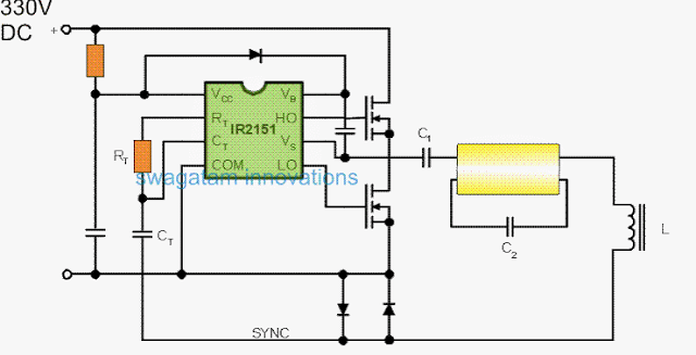 Electronic Ballast for Single 40 Watt Fluorescent Tubes