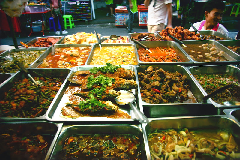 thailand backpacker tourist food list where to eat on khao san