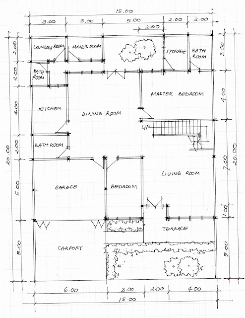 1st floor plan of home image 06