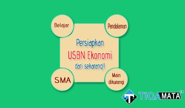 Prediksi Soal USBN Ekonomi SMA tahun 2019 serta Kunci Jawaban