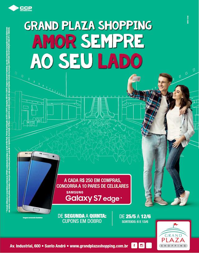 Grand Plaza Shopping sorteará smartphones em campanha pelo Dia dos Namorados