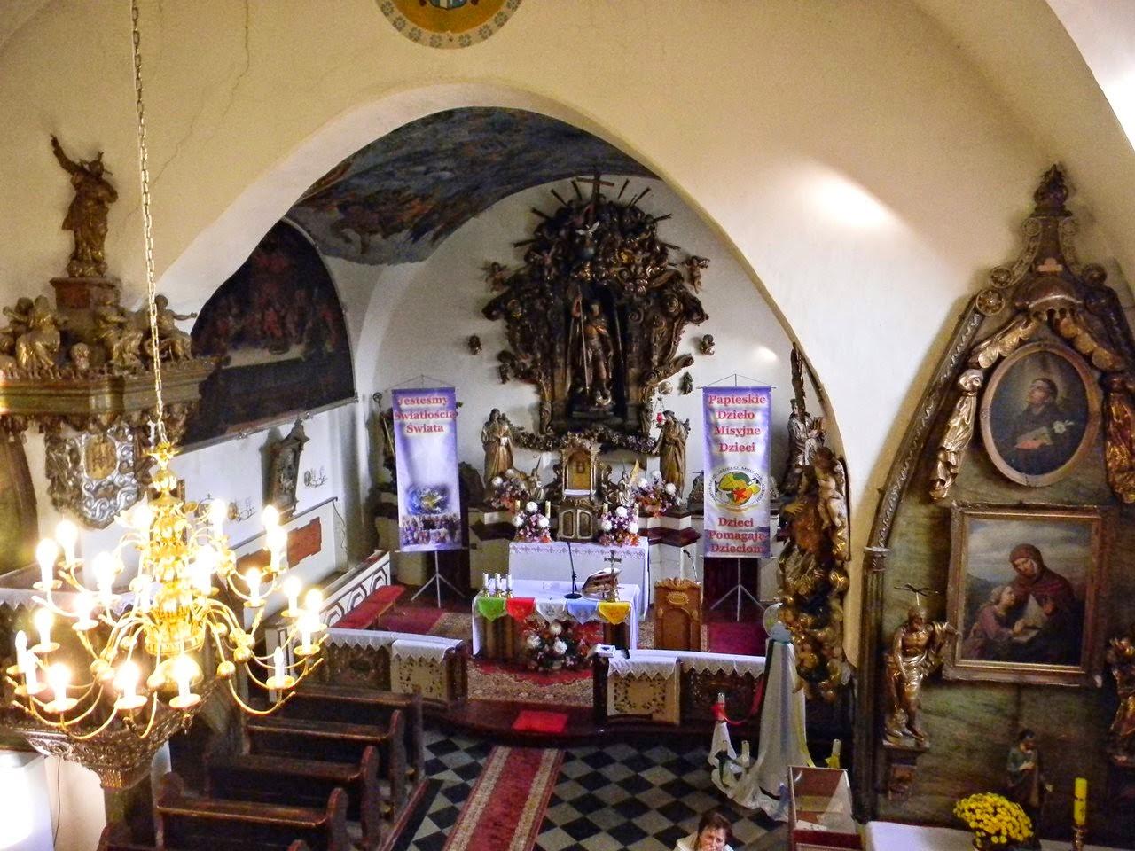 kościół w Kwielicach