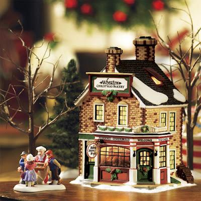 Christmas village fun blog for Decoration 56