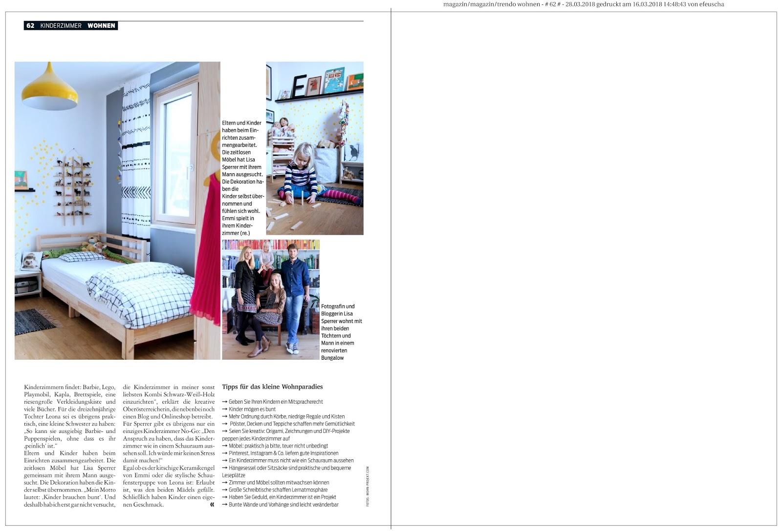 Press - WOHNPROJEKT - Wohnblog für Interior, DIY und Lifestyle