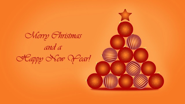 Merry Christmas & New Year 2017 Image And Wallpaper