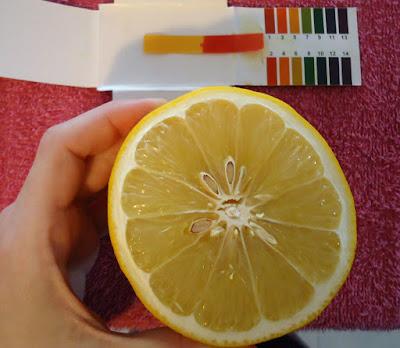 pH del limon