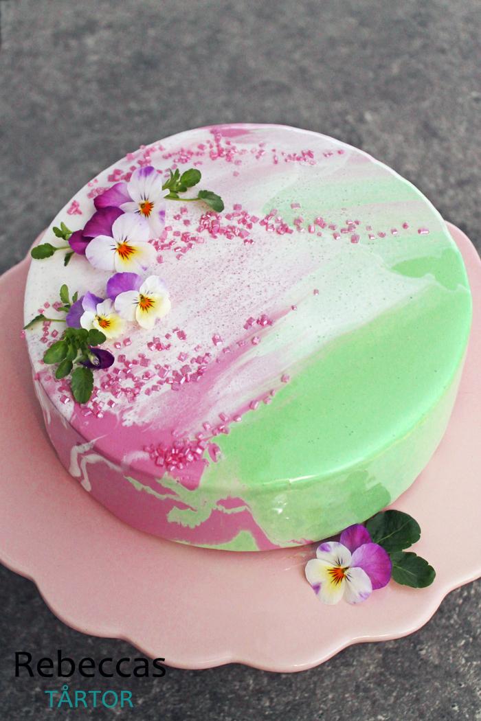 glaze tårta recept