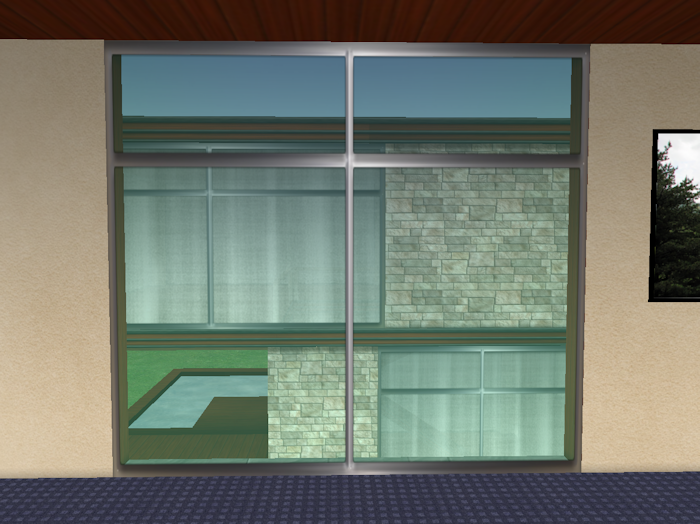 Leaf Illusion: Ready-Made One-Way Glass Panels for Second Life®