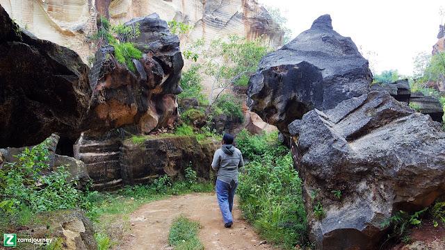 View Bukit Pelalangan Arosbaya
