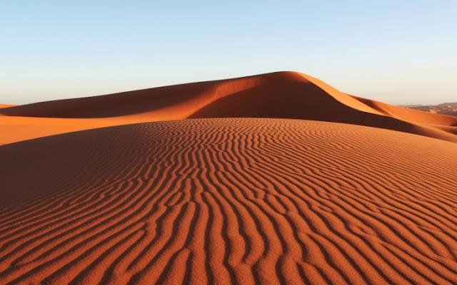 37 años de haber nevado en el Sahara, vuelve a suceder