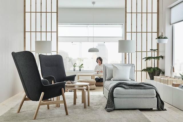 cosas de casa Sillón de espaldar alto o poltrona VEDBO - Ikea 2017-2018