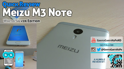 Meizu 3 Note - Review Indonesia