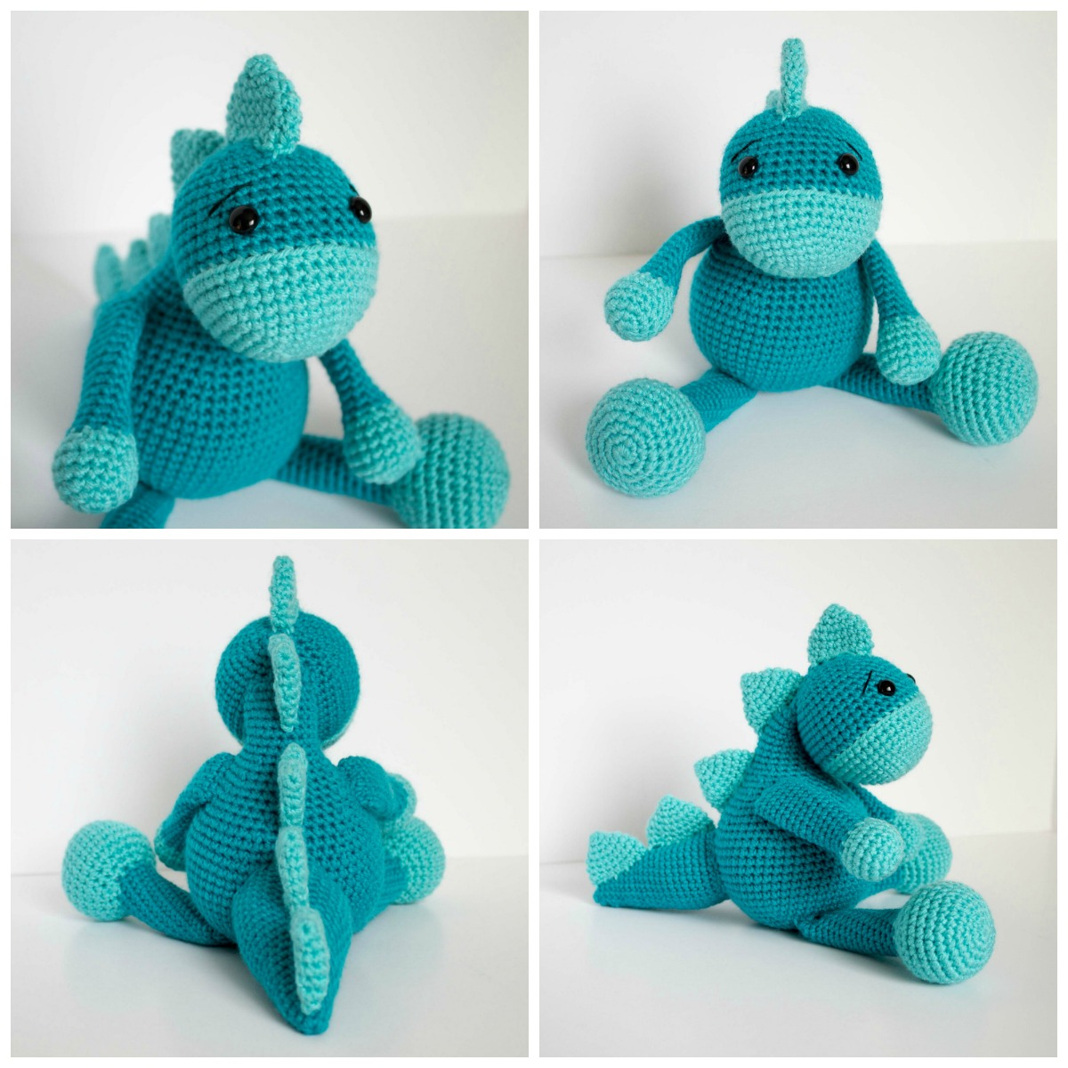 20+ Toy Dinosaur Crochet Pattern – Pattern Giveaway! - A More ... | 1200x1200