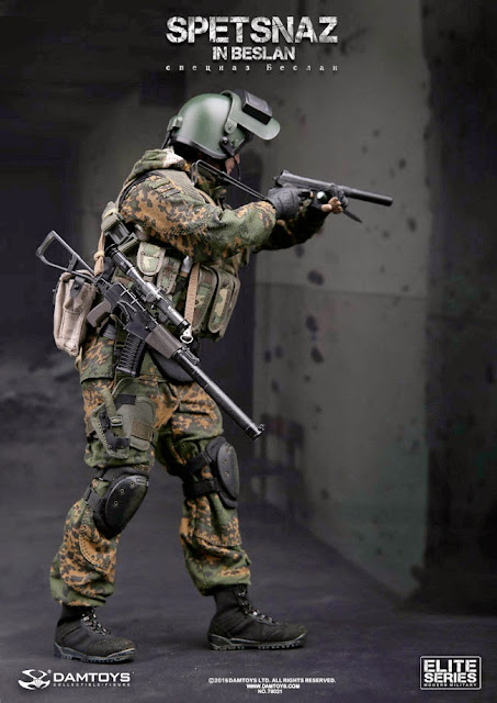 Toyhaven Incoming Dam Toys 1 6th Scale Spetsnaz In