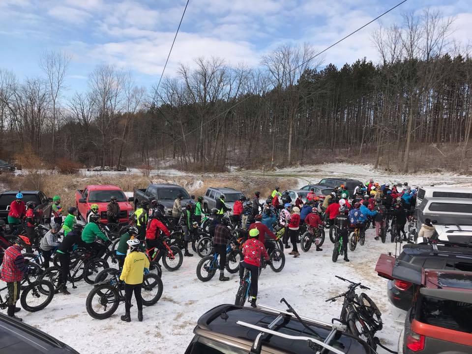 Photo by Bryan Scheel & Adventures on the Pedals: Hugh Jass Fat Bike Race at Canopy