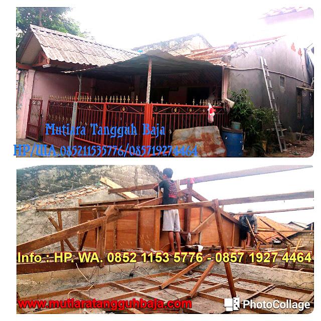 Jasa Bongkar Pasang Atap Baja Ringan Wilayah Jabodetabek dan Sekitarnya