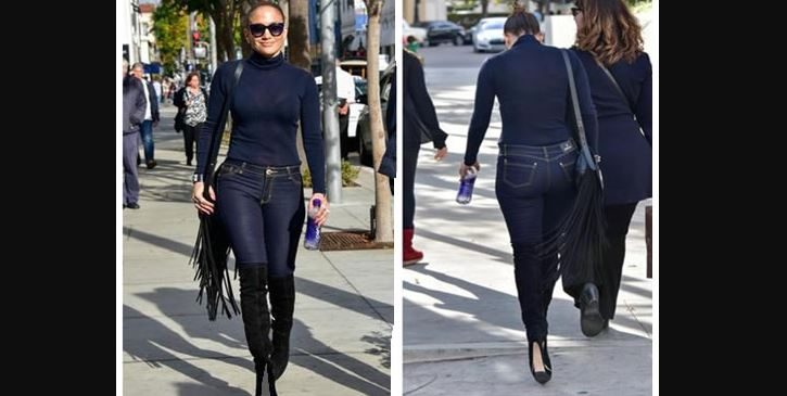 Jennifer Lopez blue jeans