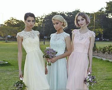 bridesmaid dress hire wedding ideas