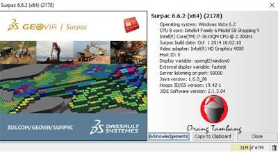Geovia Surpac v6.6.2 x64