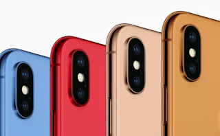 Apple's 2018 iPhones will reportedly come in blue, gold, orange and red