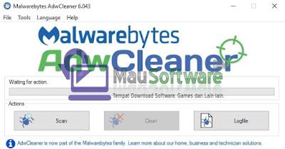 cara menghilangkan iklan pada browser, cara menghapus iklan mengganggu pada browser dengan adwcleaner, cara menghapus adware