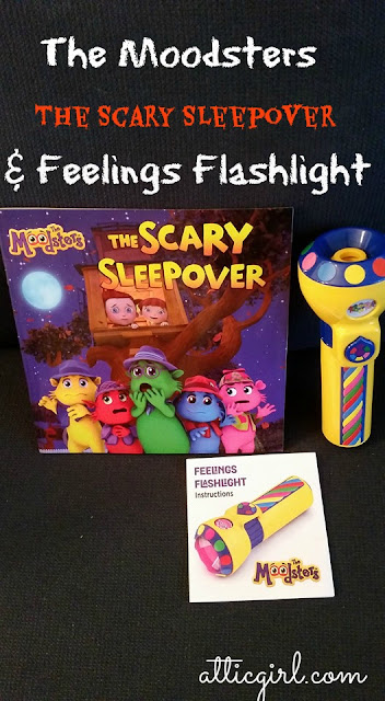 The Moodsters The Scary Sleepover & Feelings Flashlight