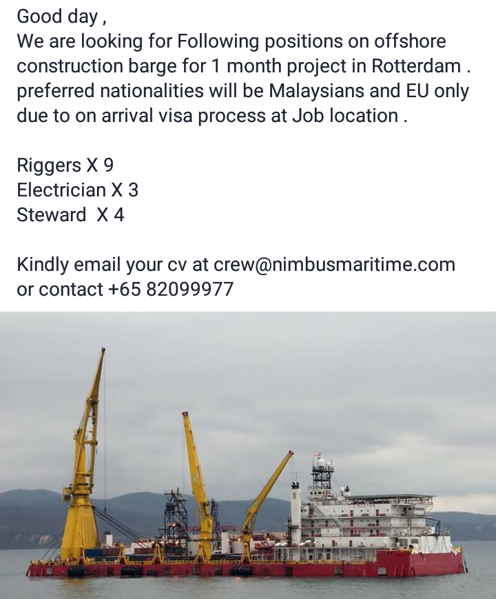 JOBSADVERTOG BLOGSPOT COM: Nimbus Maritime