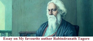 My favourite author Rabindranath Tagore