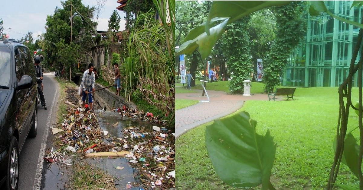 Gambar lingkungan bersih dan kotor | Semua Tentang Lingkungan