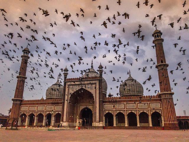 JAMA MASJID IN DELHI