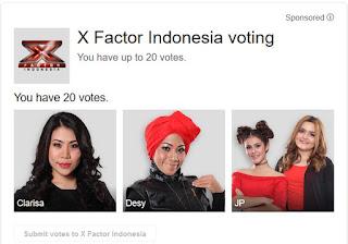 kontestan 3 besar x factor indonesia 2015