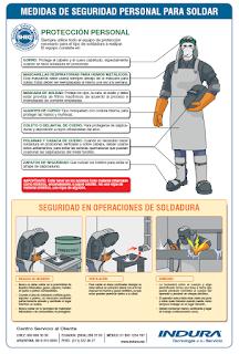 infografia medidas de seguridad en soldadura