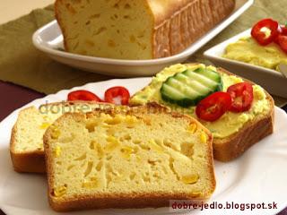 Kukuričný chlieb - recepty